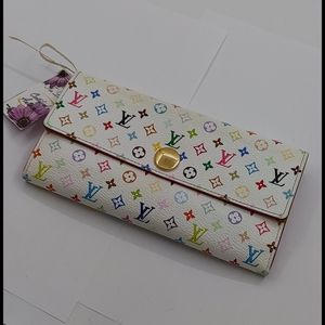 Louis Vuitton Multicolor Sarah Wallet Organizer